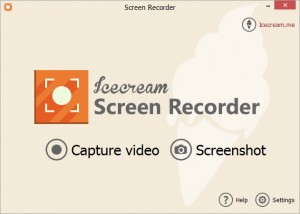 Features of Icecream Screen Recorder