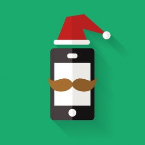 Get Your Phone in the Christmas Mood
