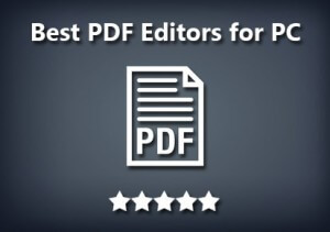 Best PDF Editor for Windows 2016