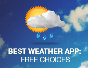 Best Weather App: Free Choices