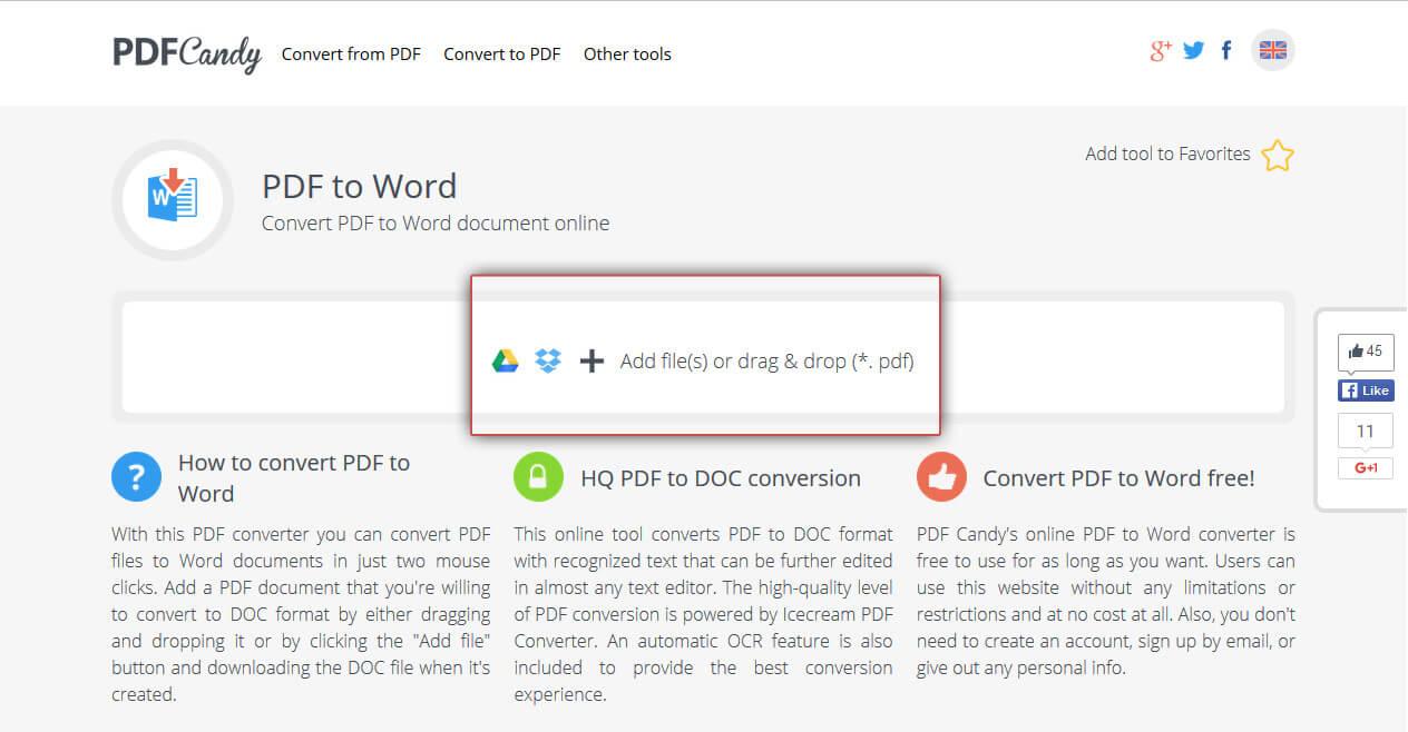 Convertire documenti pdf in word gratis online - Soda pdf gratuit ...