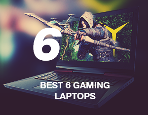 Best 6 gaming laptops