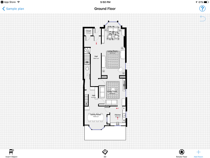 Best free floor plan creator of 2018 icecream tech digest - House plan drawing apps ...