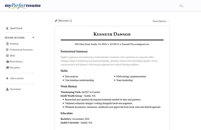 top 10 free online resume builders
