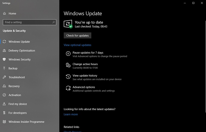 How to update drivers Windows 10