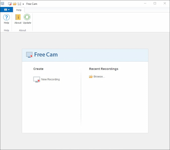Free Cam - screen recorder for Windows