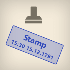 Add stamps