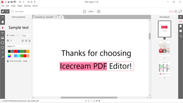 How to Edit Text in a PDF Offline