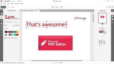 How to Write on a PDF Document