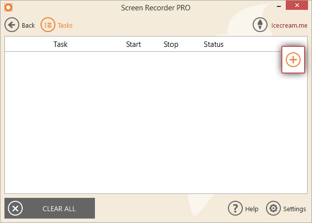 Schedule Screen Recording with Screen Recorder - Icecream Apps