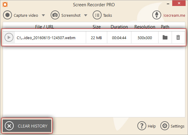 Screencast with Screen Recorder - Icecream Apps