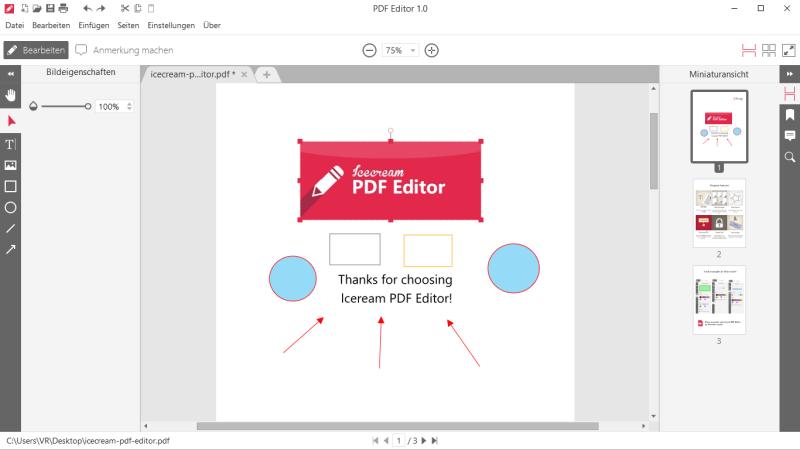 Bearbeiten deutsch pdf kostenlos