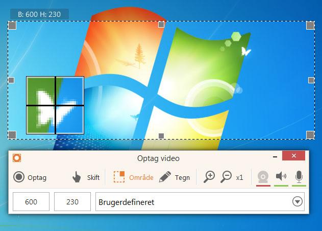 Screen Recorder: optag skærm eller tag screenshots gratis - Icecream Apps