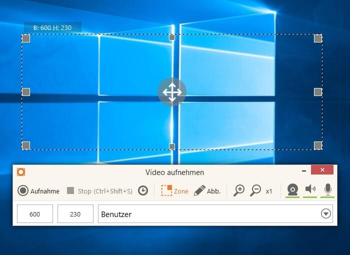 Desktopaufnahme