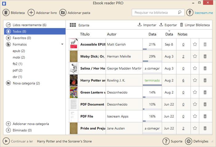 Download epub gratis para formato em livros