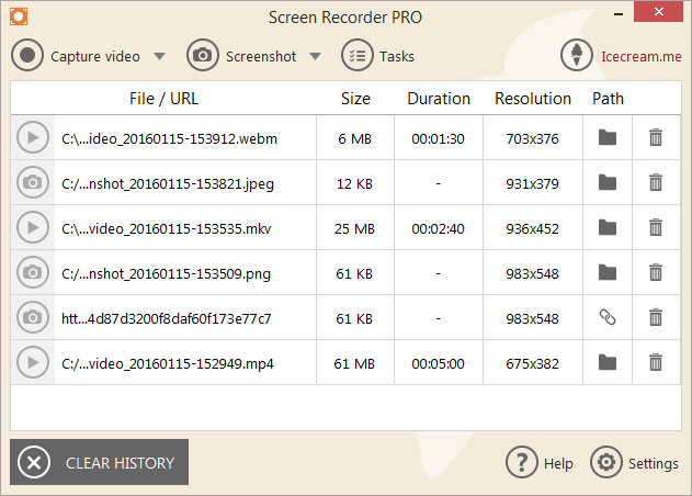 Icecream Screen Recorder Pro 5.09