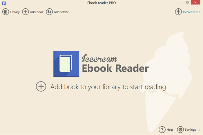 Ebook Reader Free Mobi And Epub Reader For Windows Icecream Apps