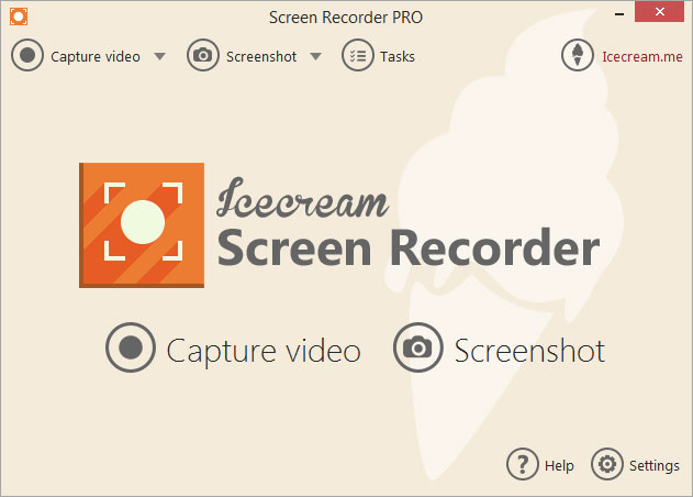 Image result for ice cream screen recorder