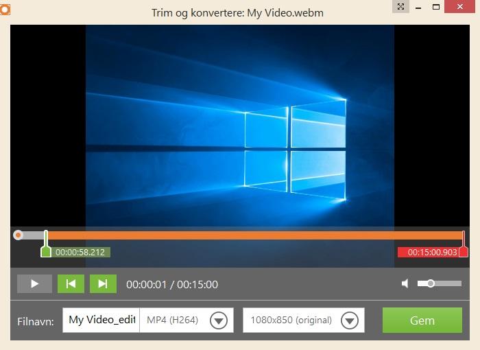 optag video på computer