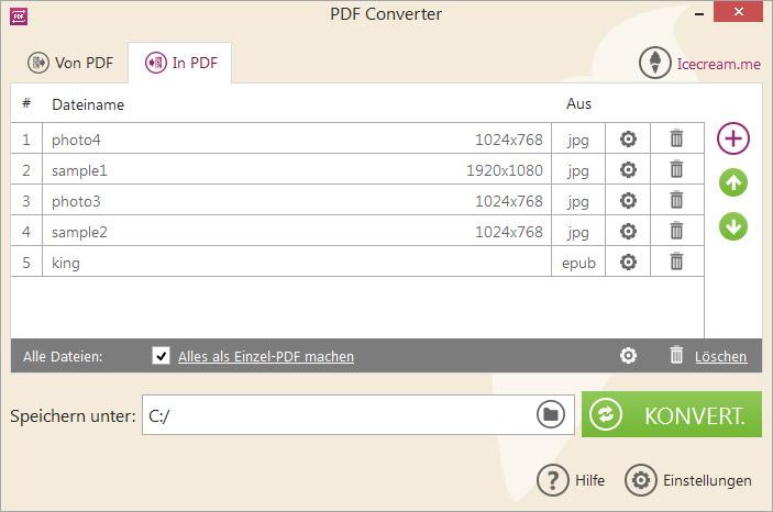 Pdf In Jpg Umwandeln Freeware Deutsch
